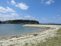 美萩海浜公園 波止の写真