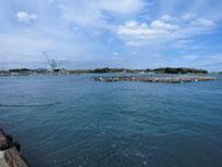 南風泊港 港内の写真