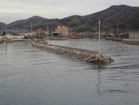 富海海岸 内波止 の写真