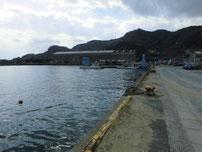 恒見漁港 港内の写真
