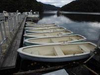 豊田湖 貸しボートの写真