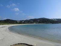 島戸漁港 横の砂浜の写真