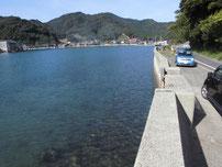 青海島 水産試験場周辺 向い側