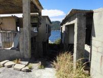 犬鳴岬 廃屋の写真