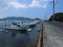 涌田漁港の写真
