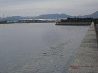 向島運動公園 駐車場側の写真