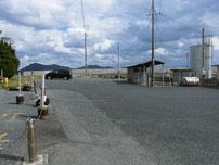 黄波戸漁港 外波止 駐車場の写真