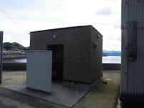 通漁港 トイレの写真