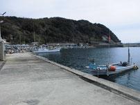 矢玉漁港 港内の写真