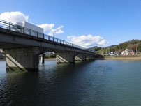 木屋川 国道橋桁の写真