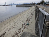 向島運動公園 駐車場 横砂浜の写真