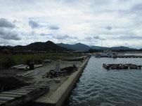 涌田漁港・作業場の写真