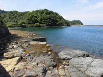 江崎漁港 波止の先の写真