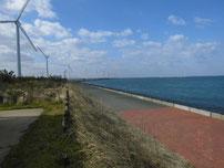 風車前 の写真