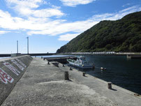 宇賀漁港 大波止・中間付近の写真