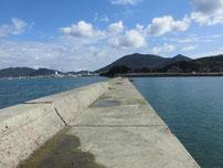 高浜港 波止の写真