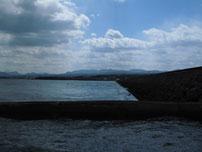 椎田干拓地海岸 豊前市側海岸の写真