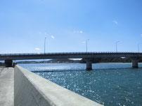 沓尾長井漁港 長寿大橋の写真