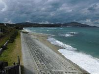 只の浜海岸 国道191号線沿い左側の写真
