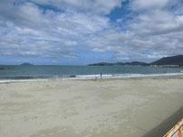 綾羅木海水浴場の写真