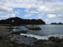 松島の地磯 右側地磯の写真