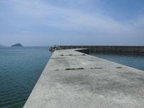 惣郷の港 内波止の写真