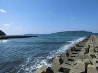 大井漁港 大井川河口 の写真
