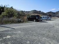 部崎の波止 駐車場所 の写真