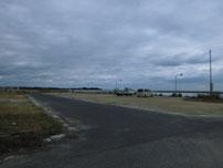床波漁港 駐車箇所の写真