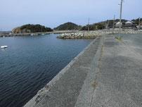 和久漁港 港内の写真