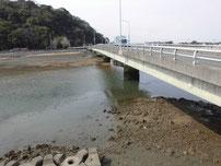 長峡川河口 長峡川大橋の写真