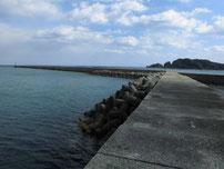 苅田赤灯台 分岐箇所 の写真