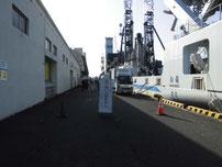 門司西海岸 荷卸作業の写真