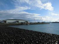 長府扇町岸壁 の写真