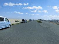 苅田南防波堤 駐車箇所の写真