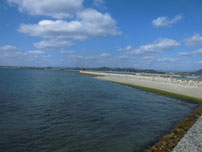 秋穂漁港 磯の香公園側の写真
