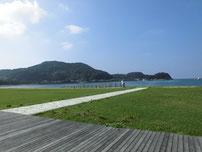 阿川海水浴場 の写真