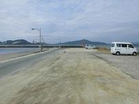 西浦漁港 駐車スペースの写真