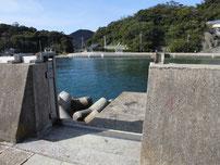 青海島大橋下周辺 本州側 テトラポット の写真
