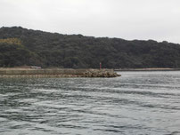 富海海岸 小波止 の写真