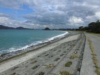 只の浜海岸 国道191号線沿い 右側の写真