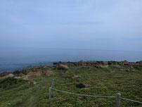 角島 牧崎地磯 先端付近の写真