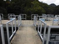 豊田湖 釣り桟橋の写真2