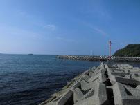 島戸漁港 釣り禁止場所の写真