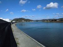 木屋川 下流護岸の写真