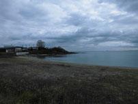 丸尾埼 右横砂浜の写真