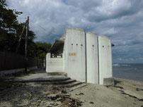 只の浜海岸 ドライブイン側トイレの写真