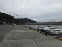 防府マリーナ 手前の港 の写真