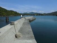 江崎漁港 波止の写真2