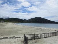 吉母海水浴場の写真